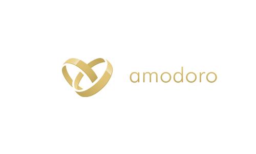 Das Logo der Trauring-Marke Amodoro