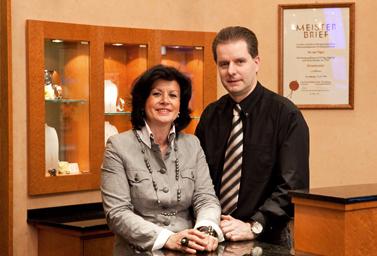 Josef und Annemarie Hilgers, die Inhaber von Juwelier Hilgers