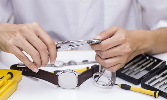 Uhrenreparaturen in Essen bei Juwelier Hilgers