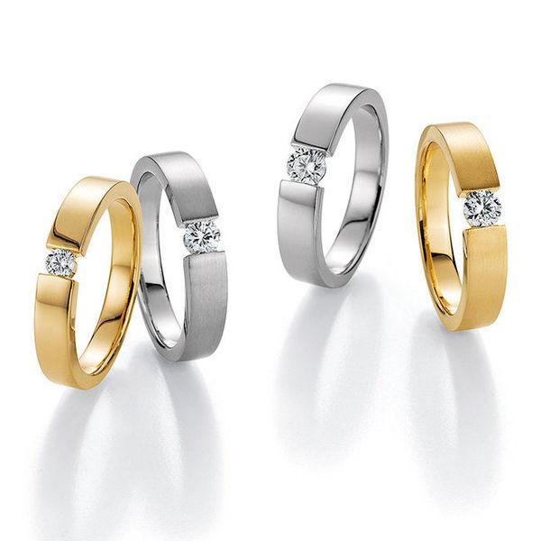 Verlobungsringe Hilgers Diamonds - Weißgold und Gelbgold
