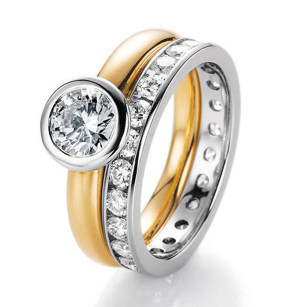 Vorsteckringe als Verlobungsringe | Hilgers Diamonds