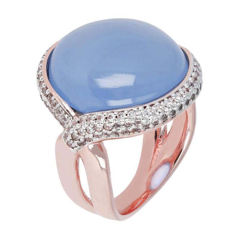 Ring blauer Achat Bronzallure | Juwelier Hilgers Essen