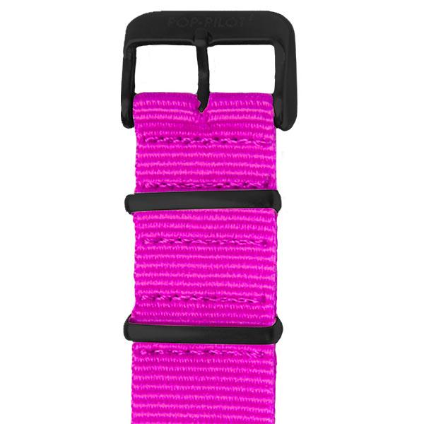 Natoband Neon Pink Pop Pilot | Juwelier Hilgers