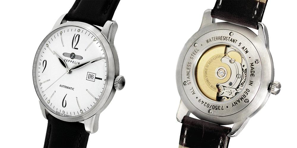 Hochwertige Verarbeitung der Zeppelin Uhren | Juwelier Hilgers Essen