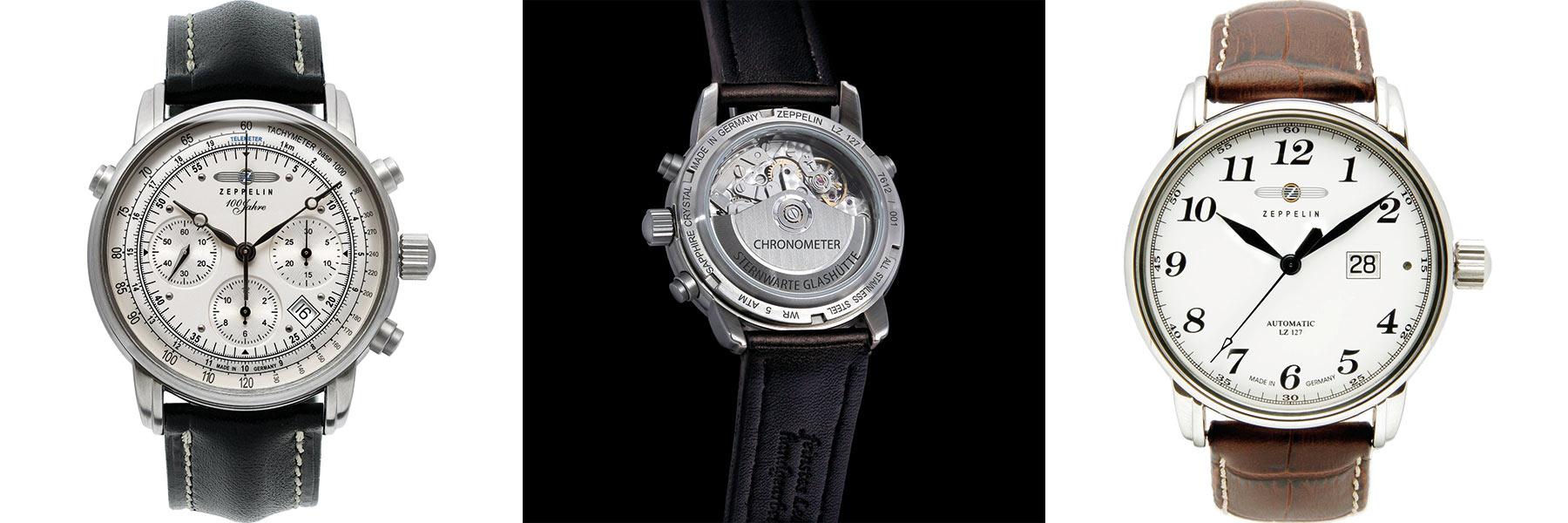 Zeppelin Chronometer Modelle | Juwelier Hilgers Essen