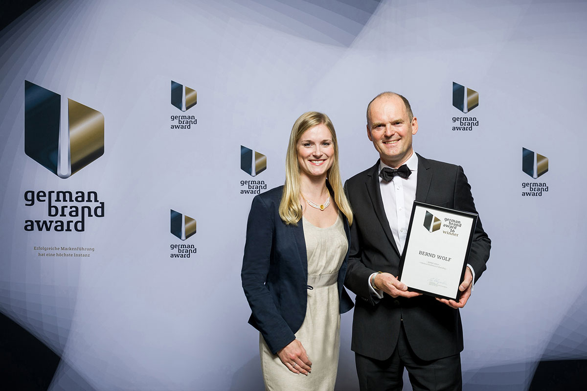 Bernd Wolf - Sieger German Brand Award 2016 und 2017 | Juwelier Hilgers Essen