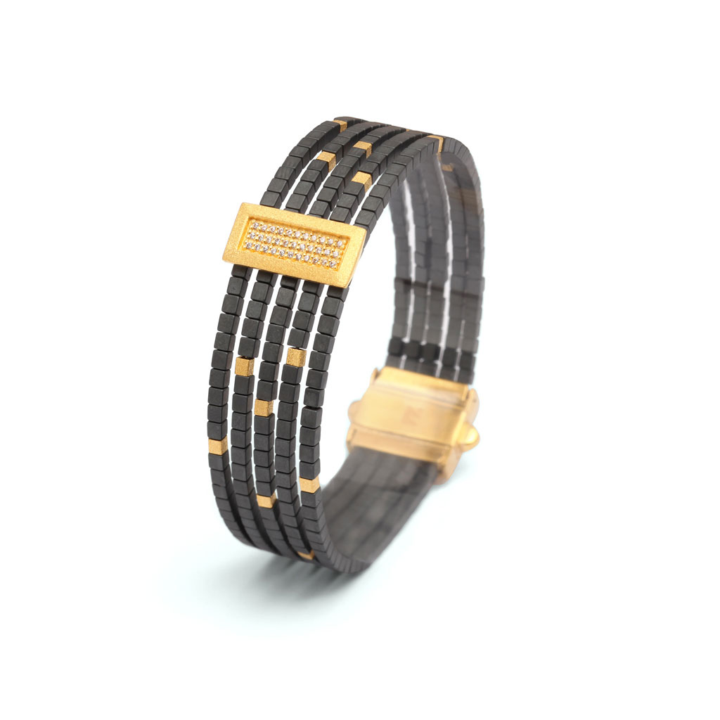 Bernd Wolf Armband Hämatit | Juwelier Hilgers Essen