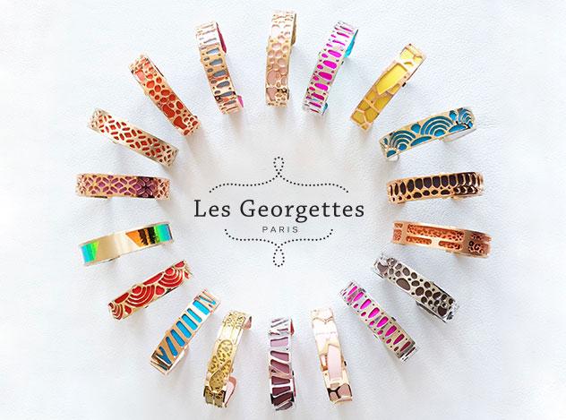Les Georgettes - Portfolio und Logo   Juwelier Hilgers Essen