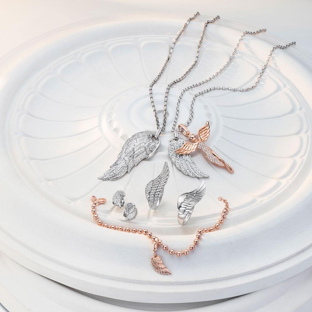Stillleben Engelsrufer mit Flügeln | Juwelier Hilgers Essen